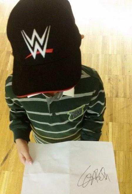 wrestling le impressioni di un bambino