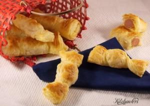 Antipasti di Natale last minute facili_caramelle di pasta sfoglia