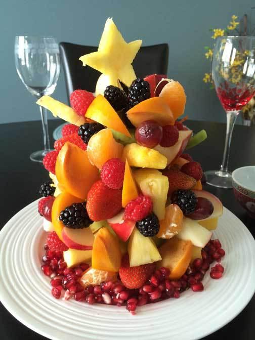 spesso Centrotavola di Natale fai da te con la frutta - Blogmamma.it  CN26