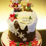 Panettoni decorati più belli del web_babbo natale e renna