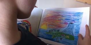 Conservare i disegni dei bambini come opere d'arte