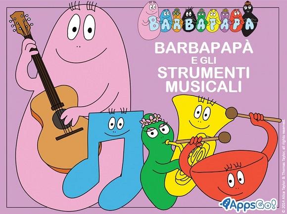AppsGo! le nuove app Barbapapà