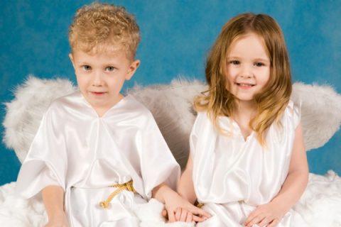costume angelo bambini