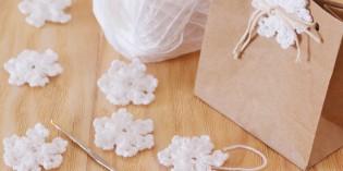 Fiocchi di neve uncinetto: idee e schemi