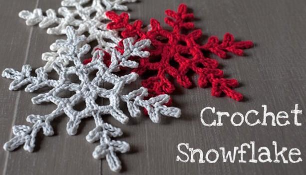 fiocchi neve uncinetto per Natale