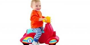 Giochi cavalcabili per bambini: lo Scooter Smart Stage
