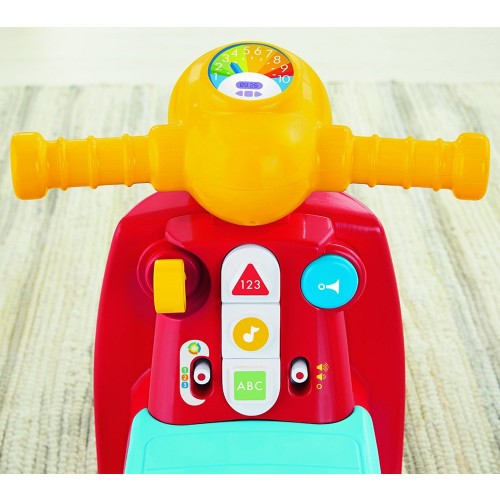 giochi cavalcabili scooter cagnolino fisher-price