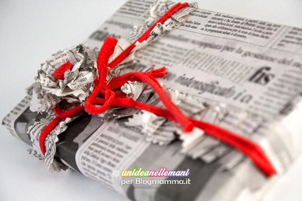 pacco-con-carta-di-giornale