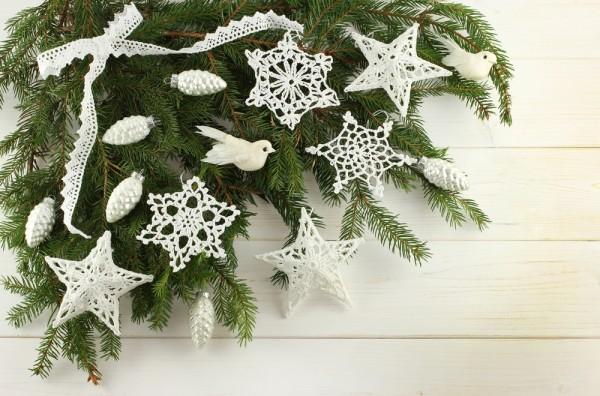 Addobbi Natalizi Uncinetto Tutorial.Come Fare Le Stelle A Uncinetto Per Le Decorazioni Di Natale