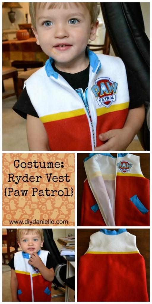 Costumi di carnevale della Paw Patrol fai da te_Ryder