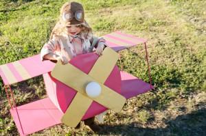 Costumi di carnevale della Paw Patrol fai da te_Skye aeroplano