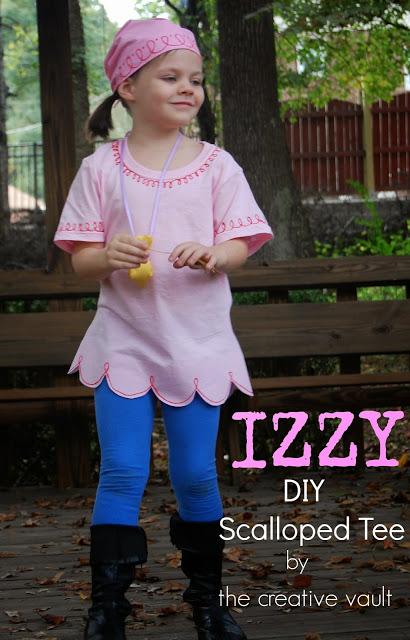 come fare il costume di carnevale di Izzy
