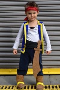 come fare il costume di carnevale di Jake e i pirati dedell'isola che non c'è