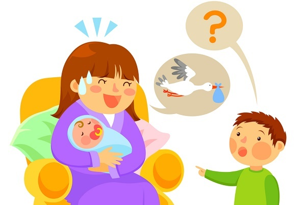 come nascono i bambini