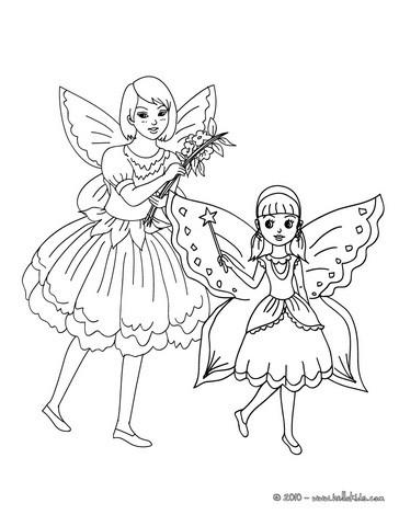 disegni di carnevale da colorare_fatine