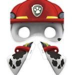 maschere della paw patrol fai da te_marshall