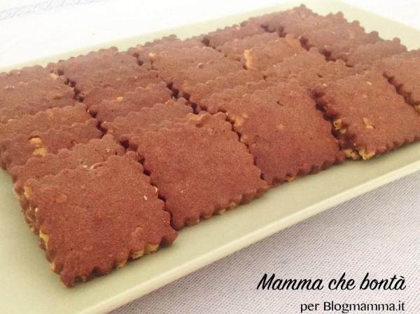 biscotti al cioccolato senza glutine per bambini