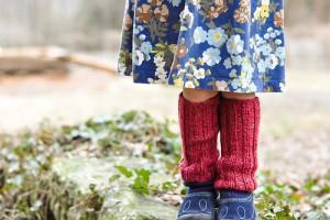 come fare degli scaldamuscoli per bambini in lana