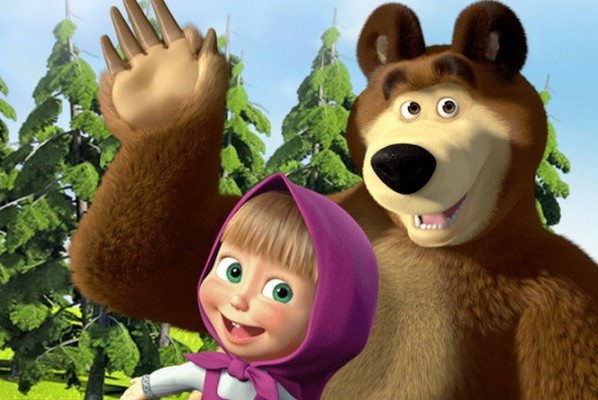 costume da orso di Masha