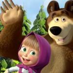 Costume da orso di Masha per papà