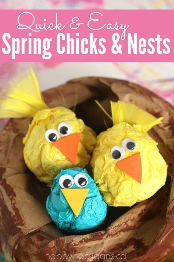 lavoretti primavera bambini asilo