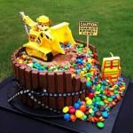 Torte di compleanno della Paw Patrol _Rubble