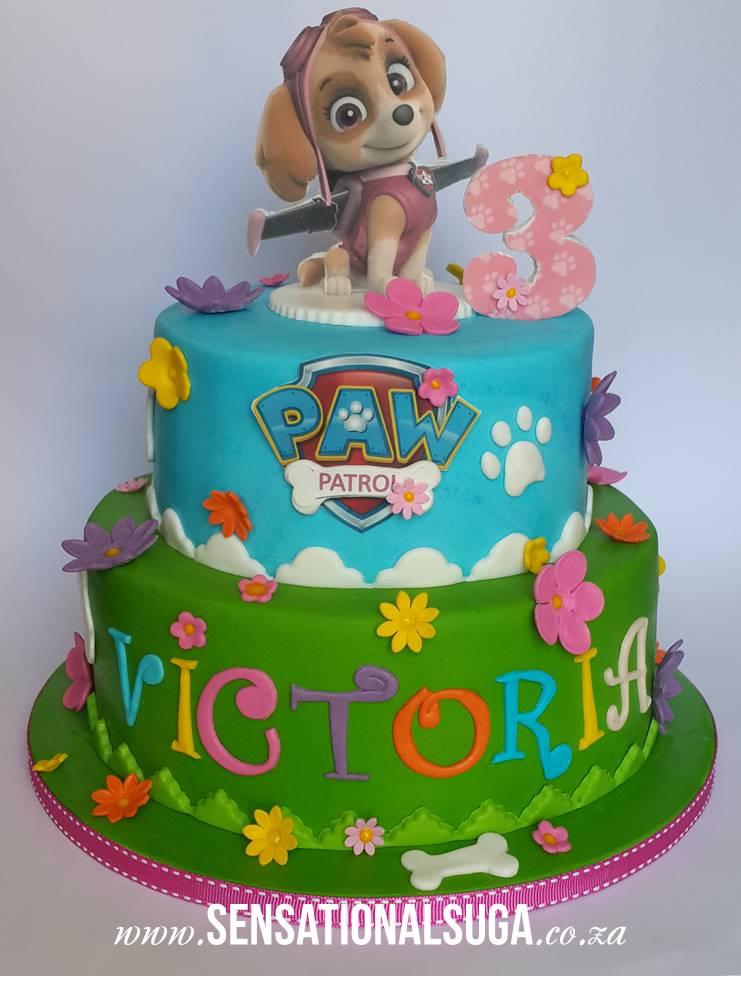 Famoso Torte di compleanno della Paw Patrol _Skye - Blogmamma.it  SO99