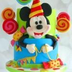 Torte di compleanno di Topolino con Lecca lecca