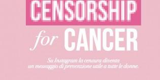 La prevenzione del tumore al seno su Instagram #touchthem