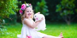 Acconciature bambina per damigella e Prima Comunione