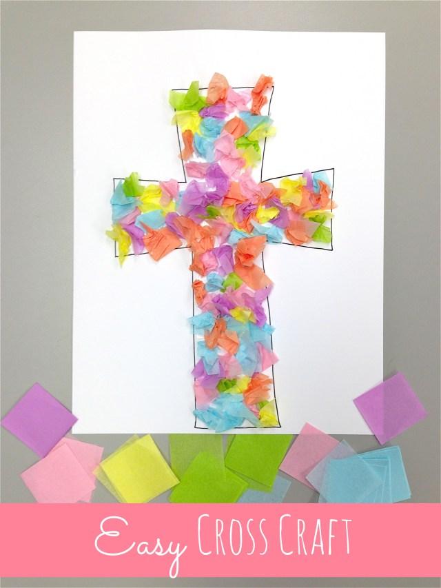 biglietto Pasqua croce