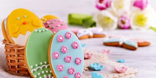 Biscotti di Pasqua con pasta di zucchero