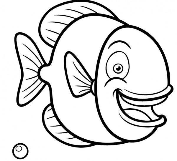 pesce di aprile bambini immagini colorare e condividere