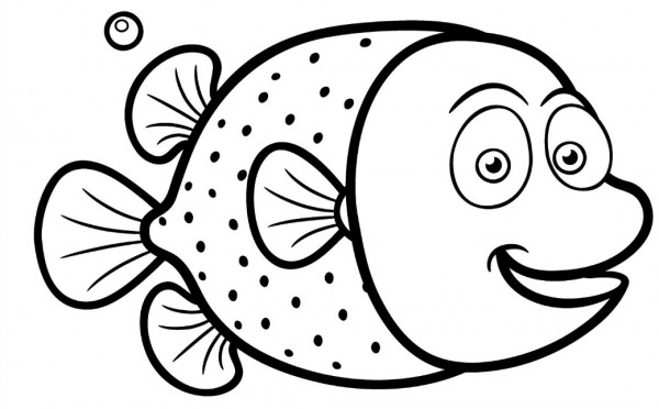 Pesce di aprile per bambini immagini e scherzi divertenti - Pagine da colorare pesci per adulti ...