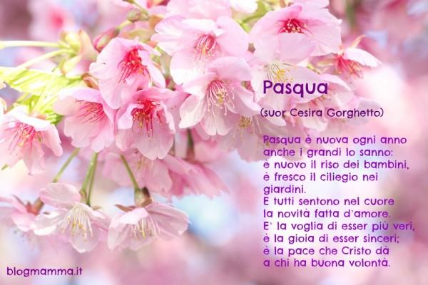 poesie filastrocche immagini di Pasqua da condividere