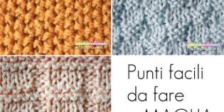 Punti facili da fare a maglia