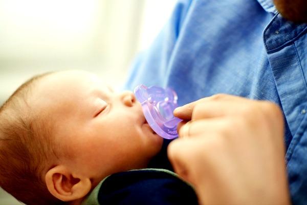 soothie ciuccio avent allattare seno