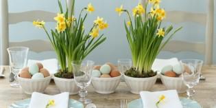 Come apparecchiare la tavola di Pasqua: dieci idee