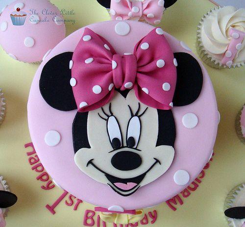 torte compleanno di Minnie_fiocco 3d