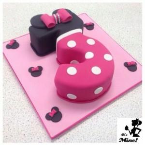 torte compleanno di Minnie_numero