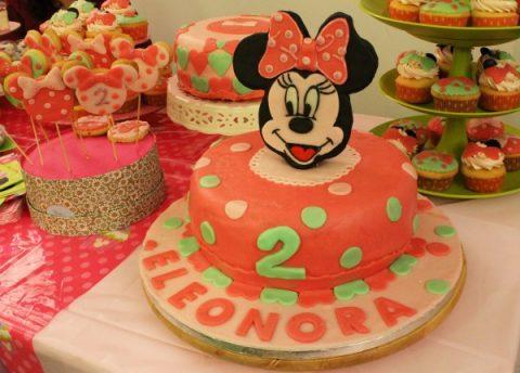 torte di compleanno di Minnie