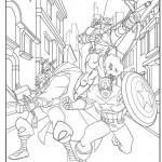 Disegni da colorare degli Avengers_trio