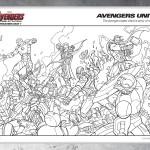 Disegni da colorare degli avengers_gruppo