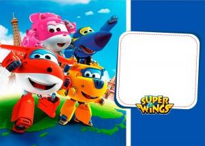 Festa di compleanno dei Super Wings_inviti
