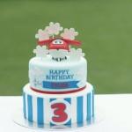 Festa di compleanno dei Super Wings_torta Jett