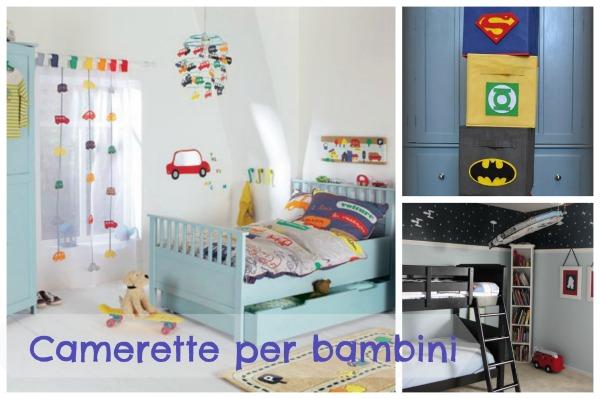 Camerette per bambini dieci idee - Idee per dipingere cameretta ...
