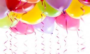 Decorazioni per le feste con i palloncini