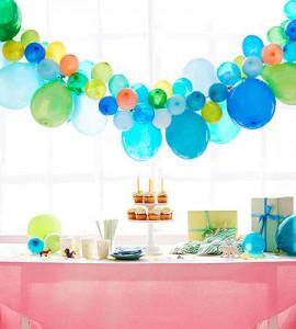decorazioni per le feste con i palloncini_festone