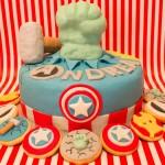 festa di compleanno degli avengers_torta