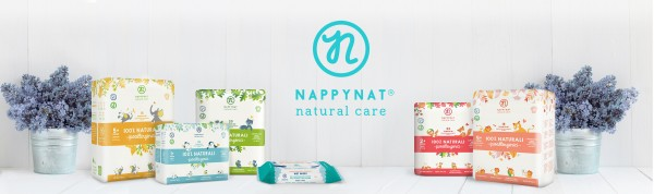 pannolini Nappynat ecologici e biodegradabili + salviette